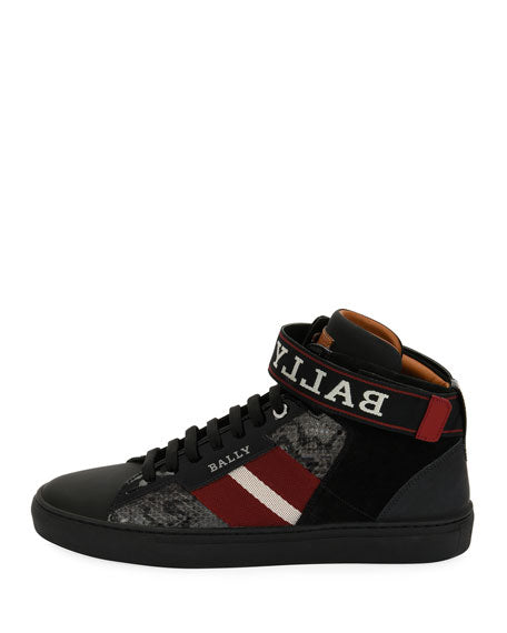 BALLY Heros Sneaker | Black - Capsule NYC