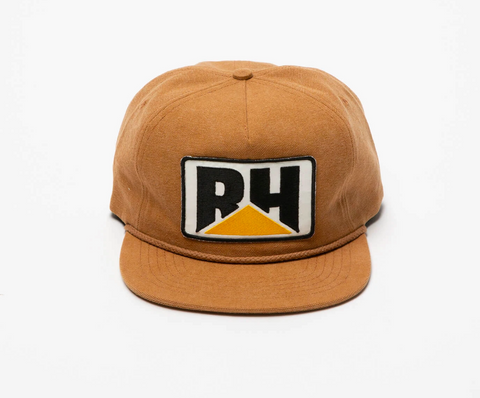 RHUDE Canvas Cat Hat | Brown