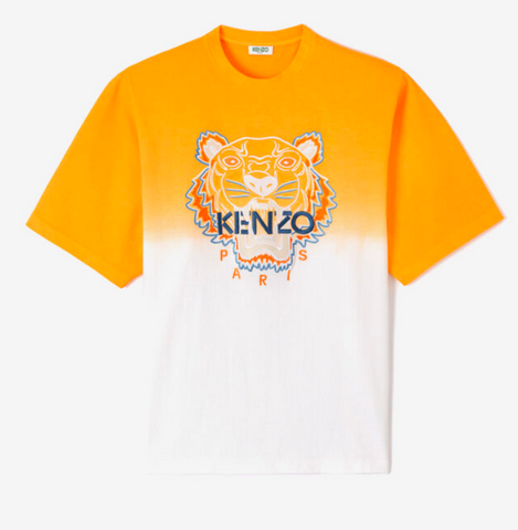 KENZO Tiger Gradient T-Shirt | Deep Orange
