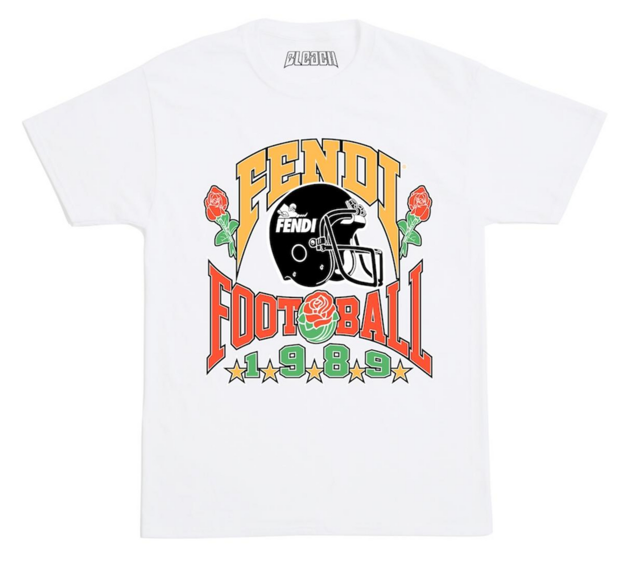 BLEACH GOODS Fantasy Football Tee | White