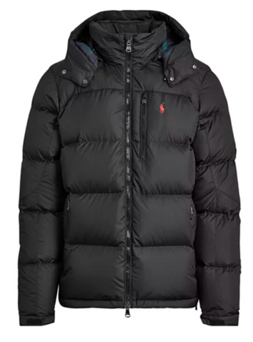 POLO RL El Cap Hooded Down Jacket | Black