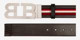 BALLY Mirror B Reversible Belt | Brown