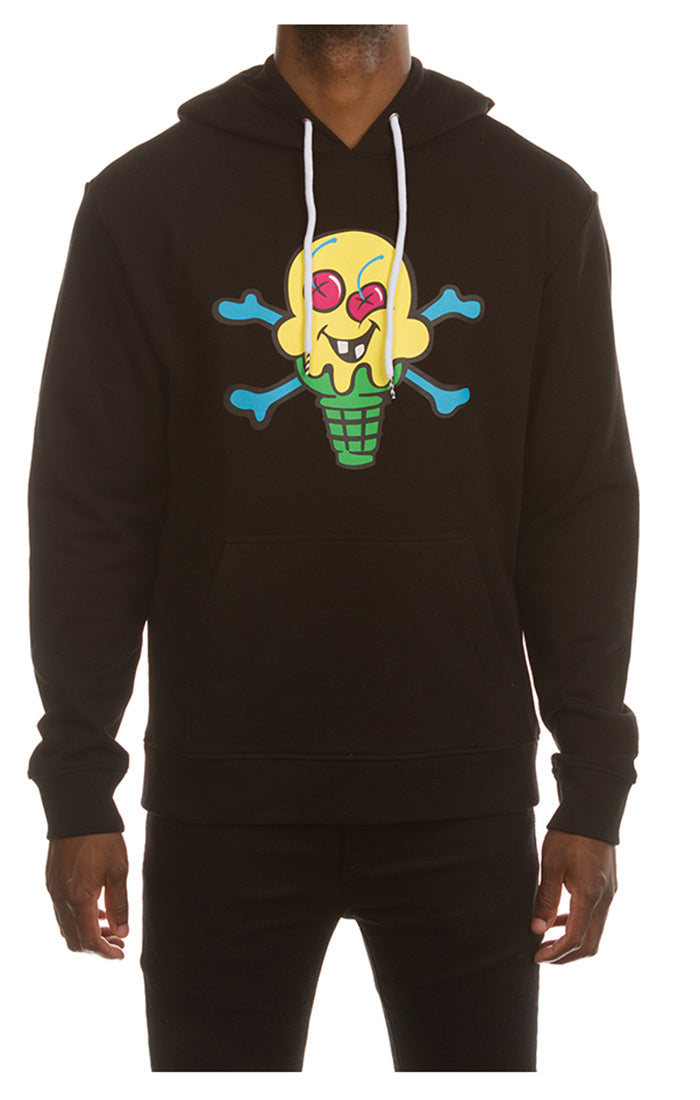 ICECREAM Lemonade Hoodie | Black - Capsule NYC