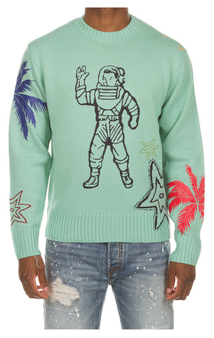 BILLIONAIRE BOYS CLUB Astro Sweater | Cockatoo