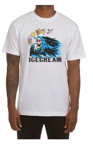 ICECREAM Ripper Tee | White