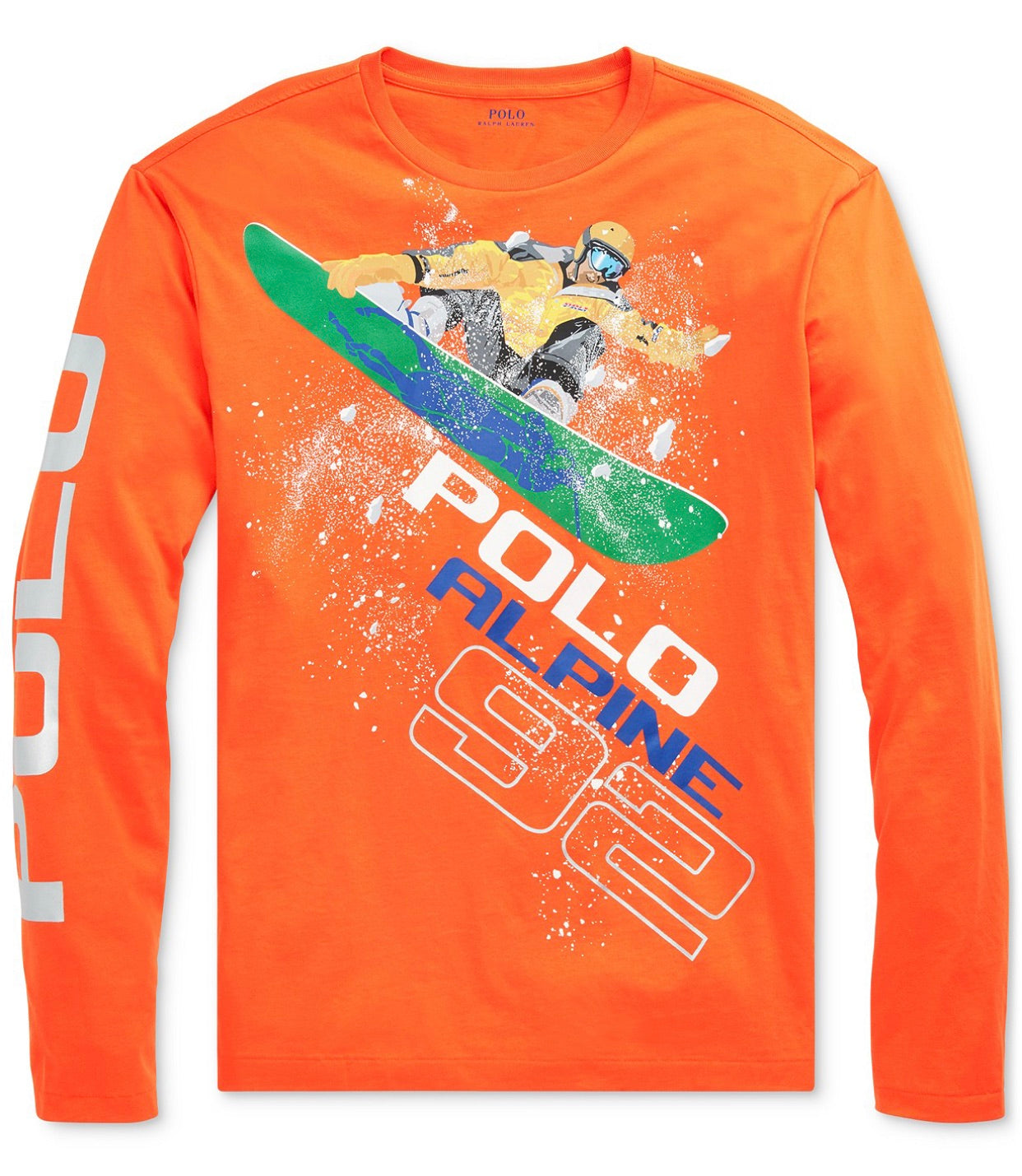 POLO RL  Holiday X Games Long Sleeve Tee