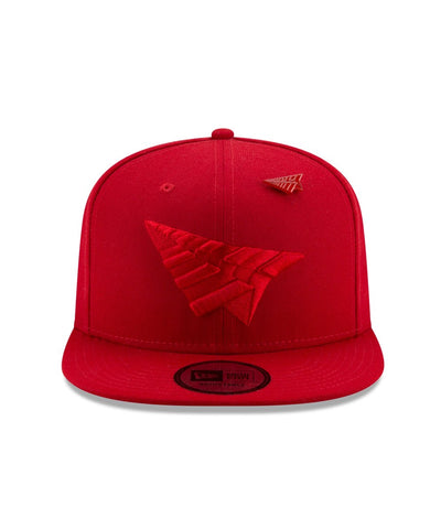 PAPER PLANES Triple Color Snapback | Red