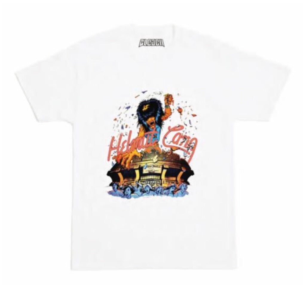 BLEACH GOODS Bussin Heads Tee | White - Capsule NYC