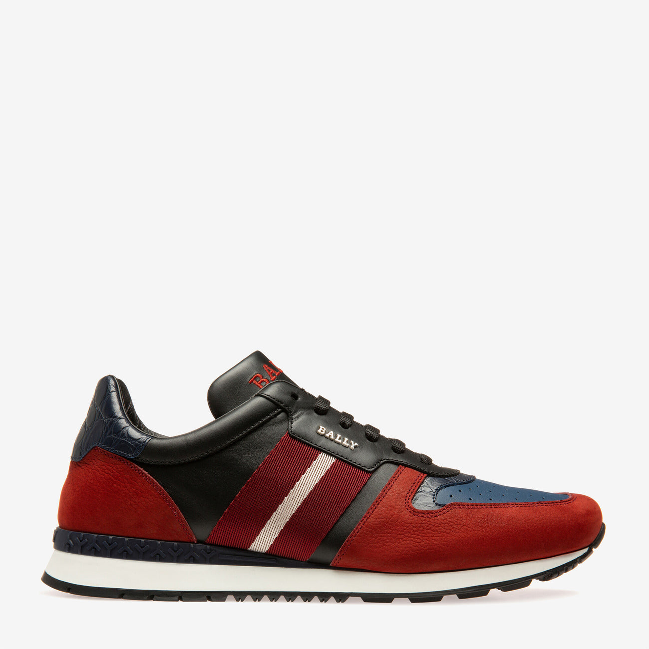 BALLY Asel Sneaker | Red - Capsule NYC