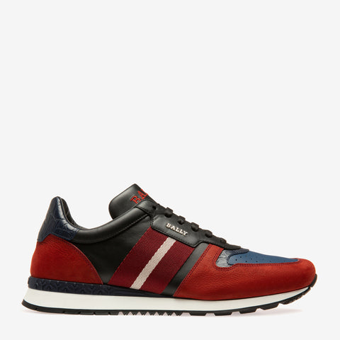 BALLY Asel Sneaker | Red