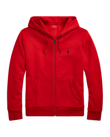 POLO RL Double-Knit Full-Zip Hoodie | Red