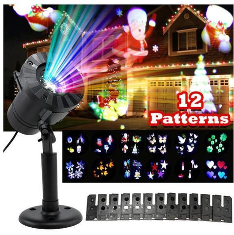 Christmas & Halloween Window Projector