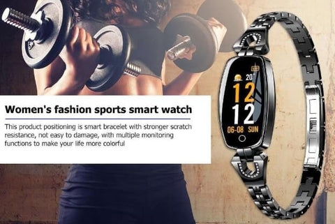 Smart Fitness Tracker Sports Watch