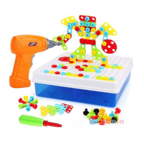 Design And Drill Educational Toys