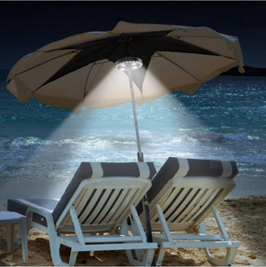 Deluxe LED Outdoor Patio Umbrella Lights