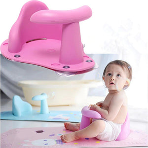Baby Bath Chair Seat Ring - Baby Bath Chair Seat Ring -Pink - Shopptique