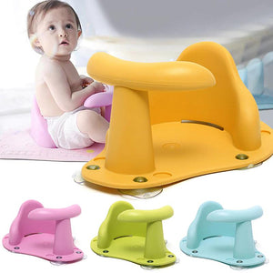 Baby Bath Chair Seat Ring - Baby Bath Chair Seat Ring -Yellow - Shopptique