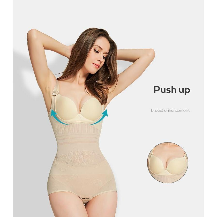 Body Shaper For Women - Postpartum Girdle - Spanx, Cortex - Best Body Shaper For Women -Beige Front Open / L (160-180 lbs) - Shopptique