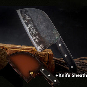 - Knifique™️ Premium Handmade Chef's Knife and Sheath - - Shopptique