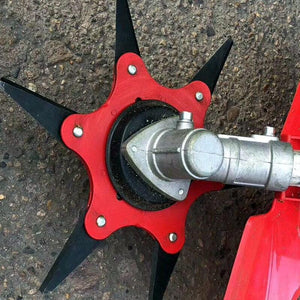 Lawn Mower Weed Eater Blade Head Attachment