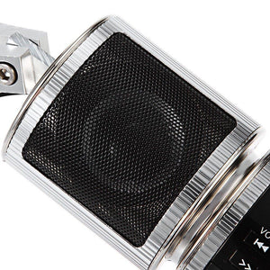 Motorcycle MP3 Player Speaker Bluetooth Music FM Radio Waterproof Adjustable Bracket Motorbike Audio Stereo - Bluetooth Motorcycle Speaker - - Shopptique