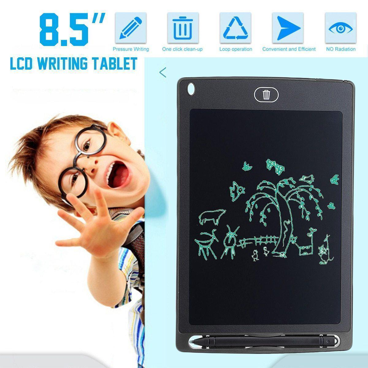 Portable Smart LCD Writing Tablet – Digital Drawing Graphics Board - Portable Smart LCD Writing Tablet -Blue - Shopptique