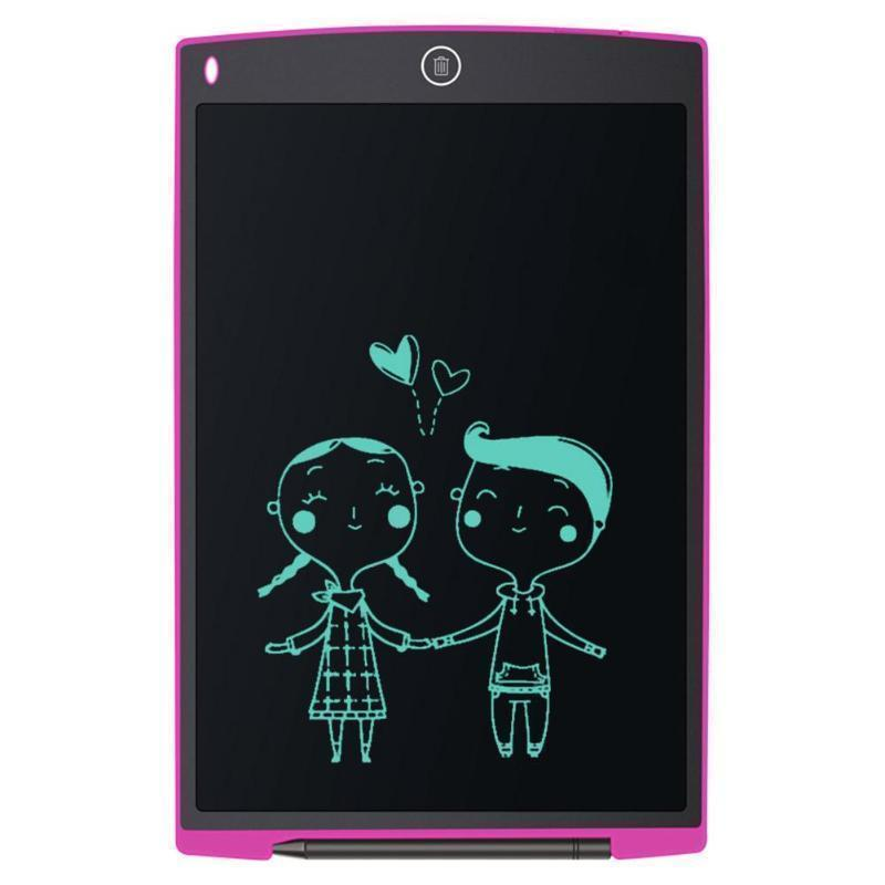 Portable Smart LCD Writing Tablet – Digital Drawing Graphics Board - Portable Smart LCD Writing Tablet -Pink - Shopptique