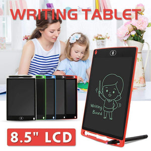 Portable Smart LCD Writing Tablet – Digital Drawing Graphics Board - Portable Smart LCD Writing Tablet -Red - Shopptique