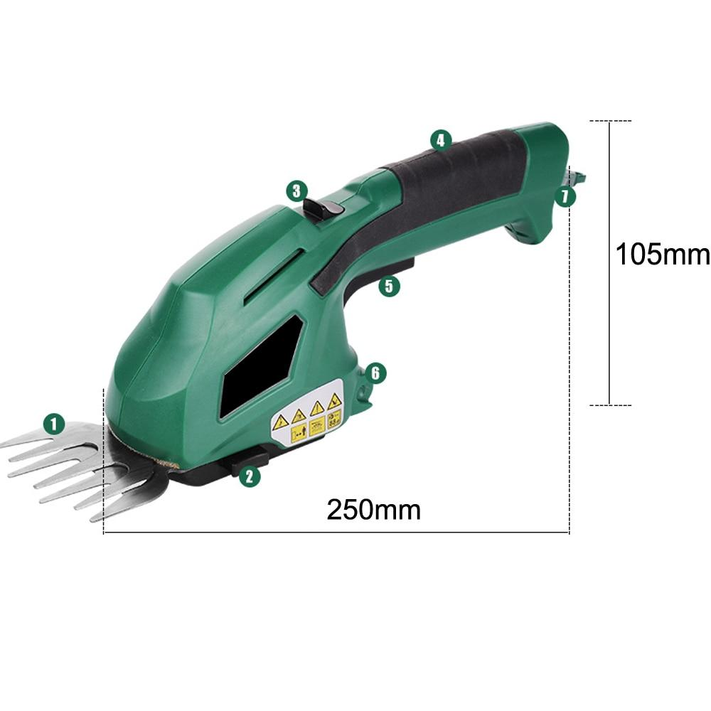 Premium Cordless Electric Hedge Trimmer Battery Powered
