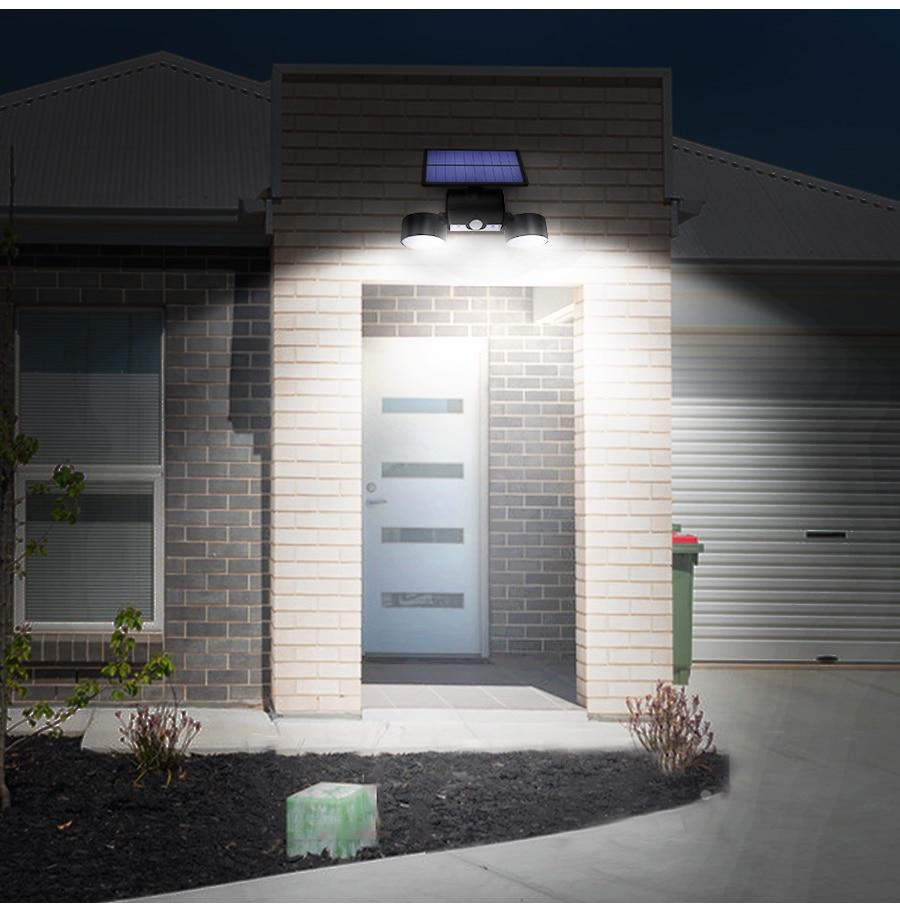 Solar Motion Security Sensor Light