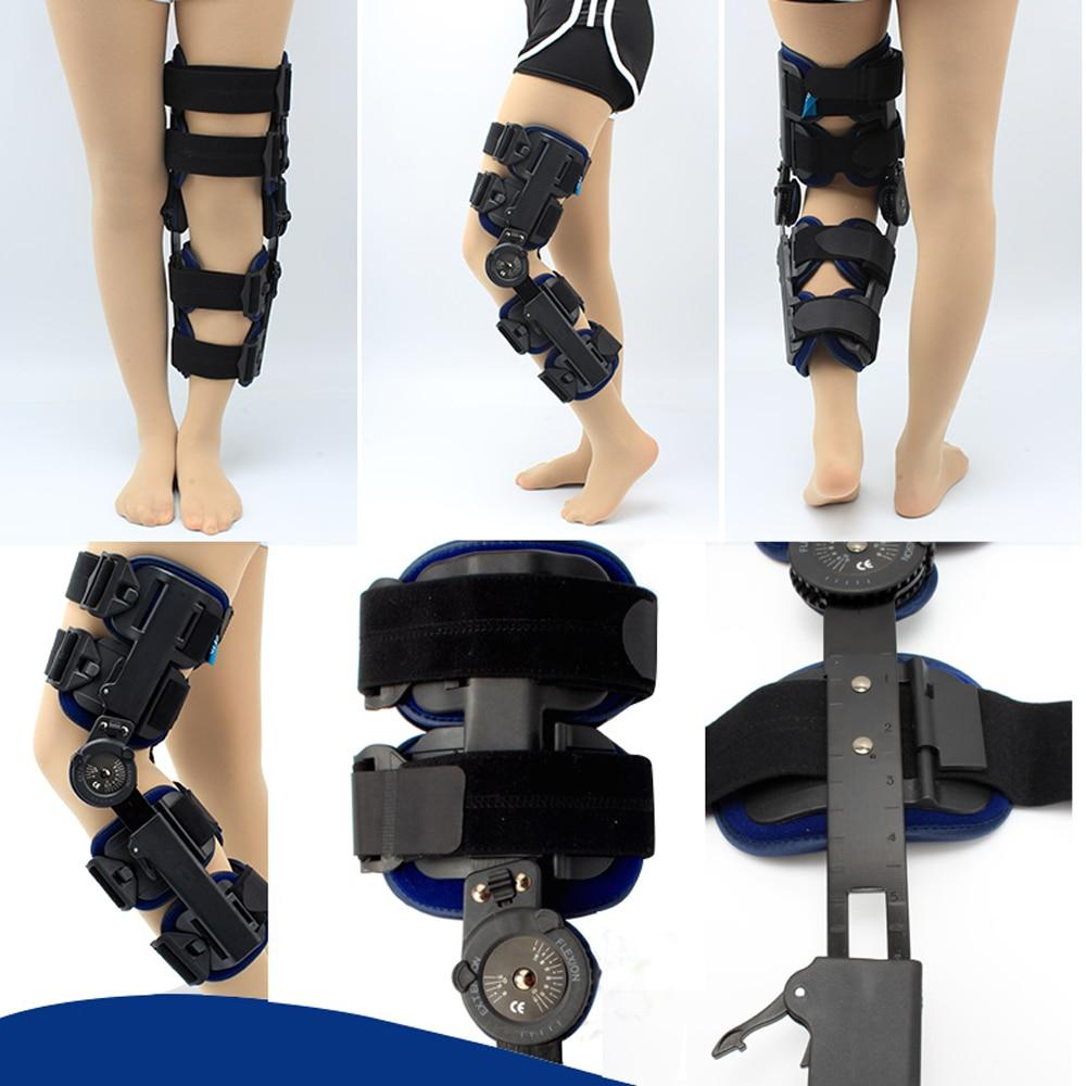 Hinged Knee Stabilizer Support Brace