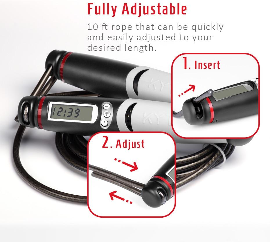 Smart Digital Speed Skipping Jump Rope