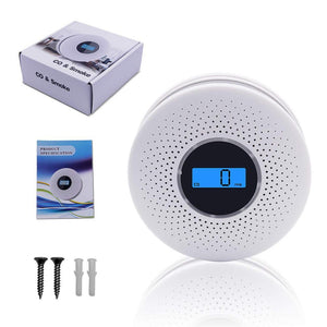 Carbon Monoxide And Smoke Detector Alarm