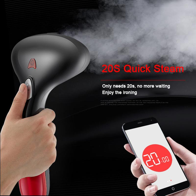 Portable Handheld Clothes Iron Steamer