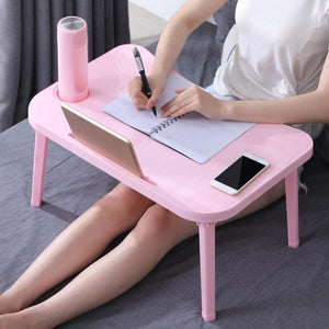 Large Laptop Bed Table Desk