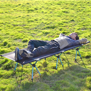 Premium Folding Camping Cot Sleeping Bed