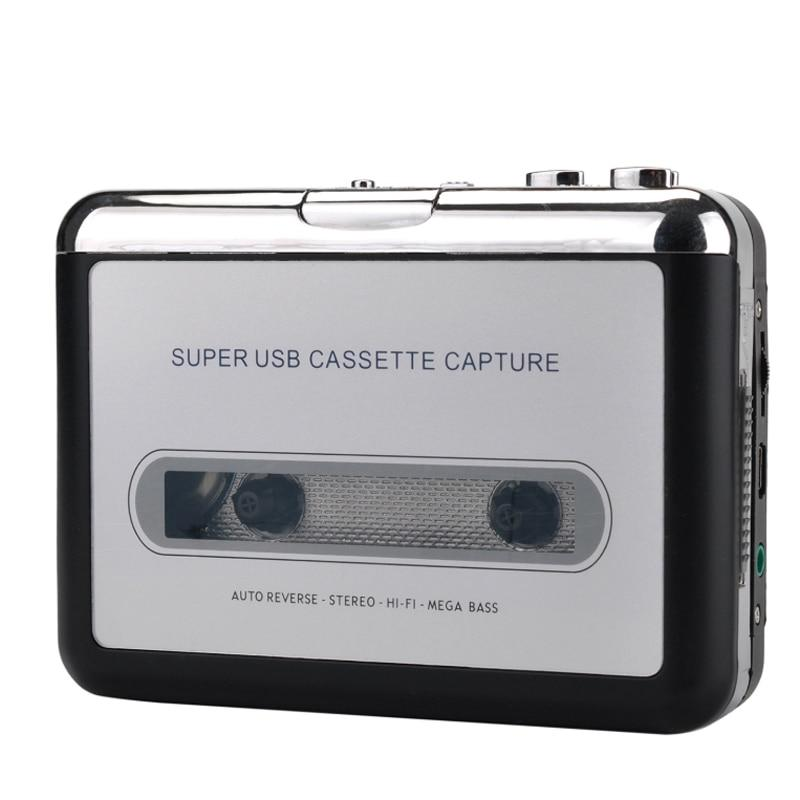 Portable Cassette To MP3 Converter And Tape Player