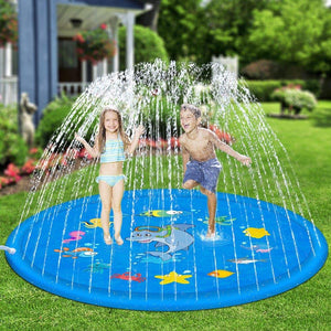 Kids Fun Sprinkler Water Toy Mat