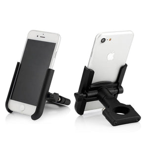 Motorcycle Cell Phone Holder Handlebar Mount Aluminum Alloy