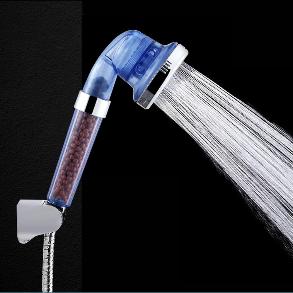 Handheld High Pressure Shower Head Water Filtering Massage Shower