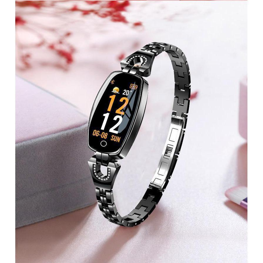 SmartWatch Women - Waterproof Fitness Tracker for both Android & IOS - Best Smart Fitness Watch For Womens - Premium Smart Watch For Women - Compatible with Android & IOS - - Shopptique