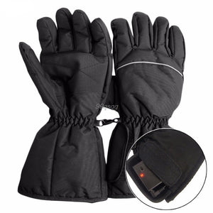 Waterproof Heated Gloves - For Motorcycle, Hunting, Winter