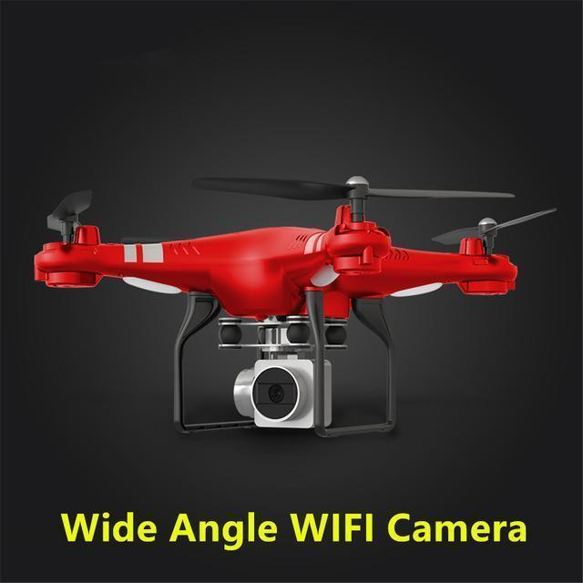 Wifi Drone Splash Auto with 1080p Camera Live Video and GPS - Wifi Drone Splash Auto with 1080p Camera Live Video and GPS -Red - Shopptique