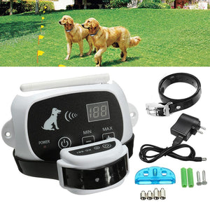 Wireless Electric Dog Fence with Collar