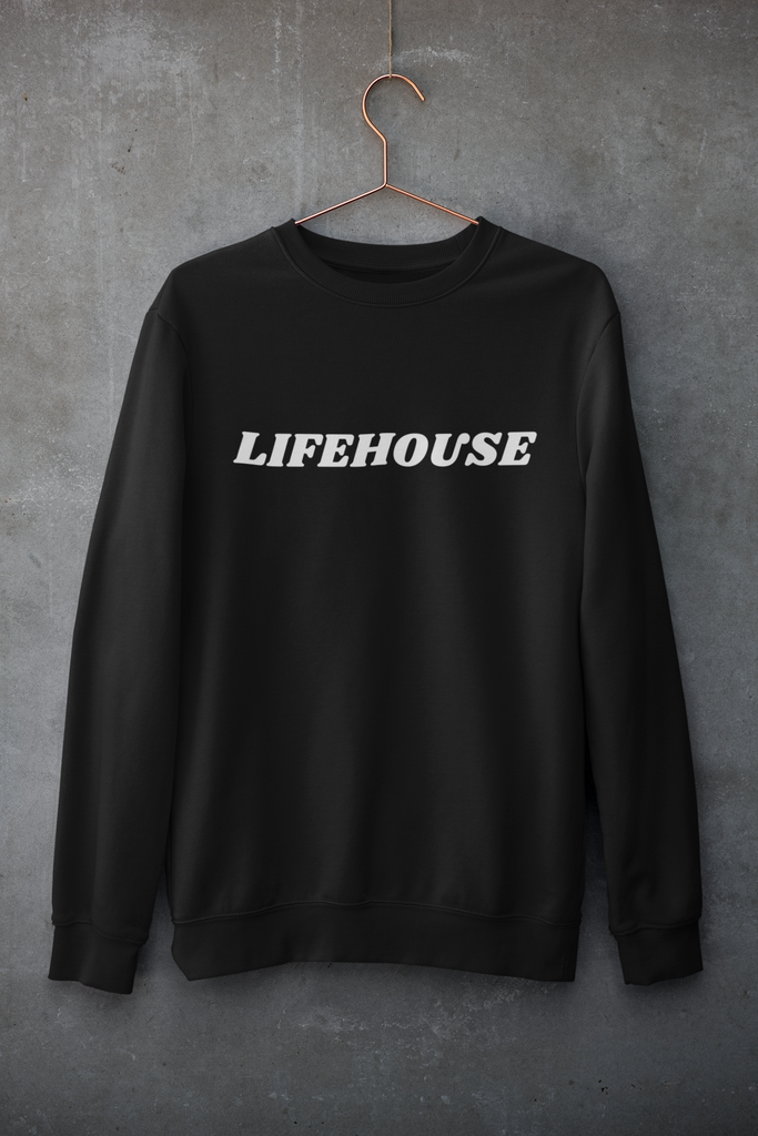 Lifehouse Logo Black Sweatshirt