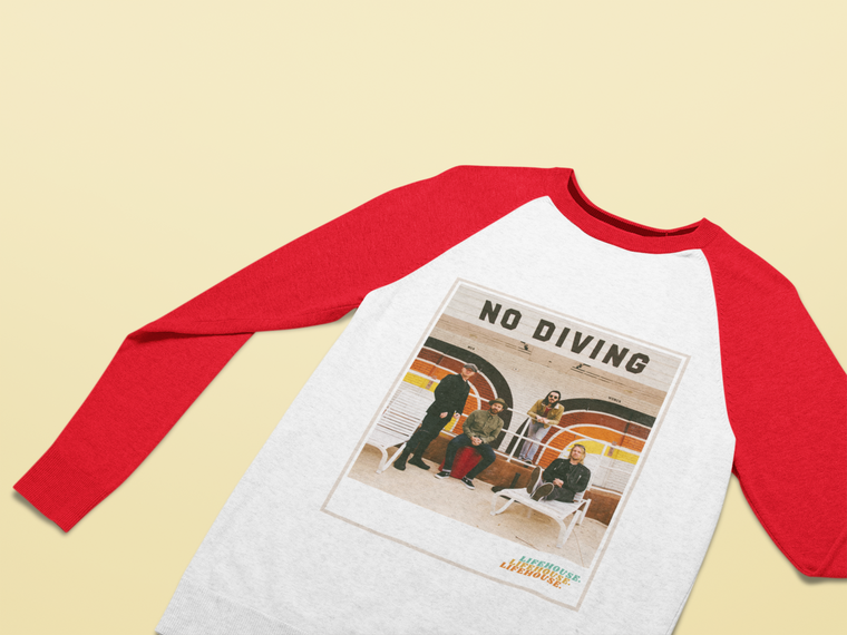 No Diving Raglan Tee