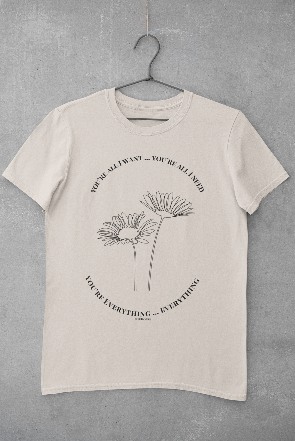 Blooming 'Everything' Lyric Tee