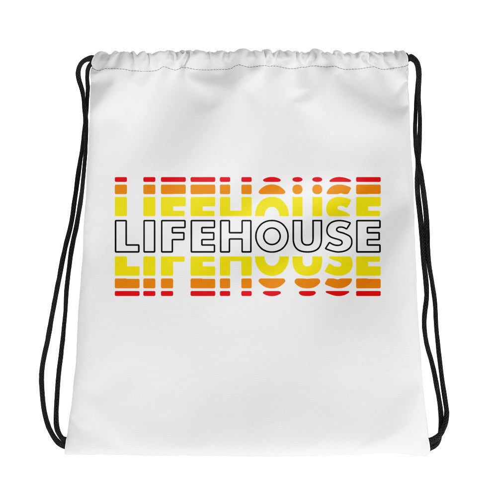 Lifehouse Fade Drawstring Bag