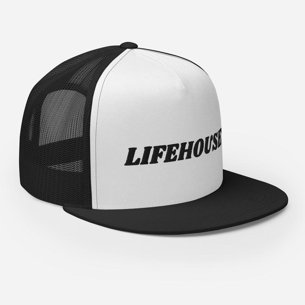 Lifehouse Logo Trucker Hat Black