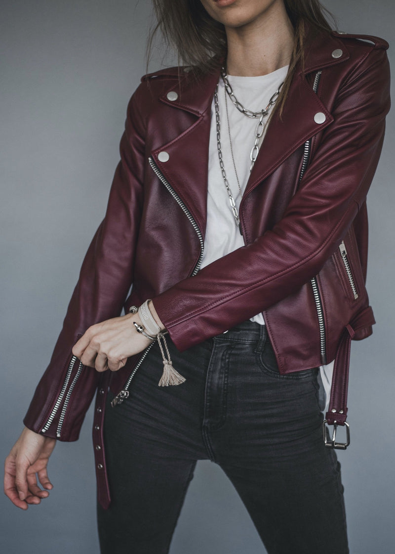 SUSSEX / BURGUNDY JACKET